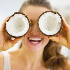 Moisturize your skin, condition your hair, and cook with coconut oil.