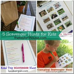 5 Fun Scavenger Hunt Ideas to Get Your Kids Busy Outside