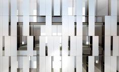 Jacob Wahler Blogging: Rendering - Metal Panels facade pattern, metals, metal panel facade, metal panels