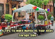 Make money at your next garage sale