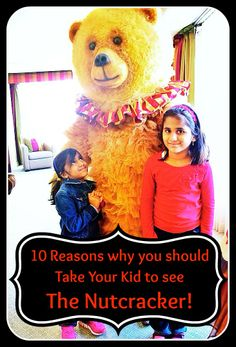 10 Reasons Why You Should Take Your Kid to see Boston Ballet's The Nutcracker! | Mommy Niri