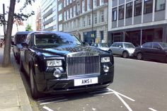 Lord Sugar has a private plate reading AMS 1 (his initials!) on his Rolls Royce - how much would you pay for a private plate?
