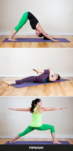 Sore from a long run? Stretch out with these yoga poses.