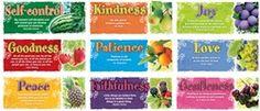 Fruit of the Spirit Bulletin Board Set