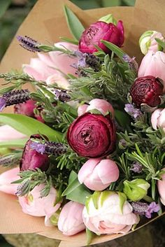 bouquet, color schemes, tulip, color combinations, flower