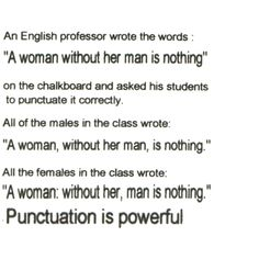 Punctuation is Powerful via polyvore #Grammar #Punctuation