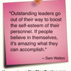 Sam Walton quote.