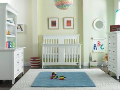 One lucky Project Nursery reader will win the Bonavita Harper Lifestyle Crib. #giveaway #win