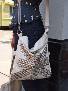 super studded satchel