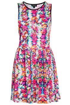 Summer Floral Flippy Dress.