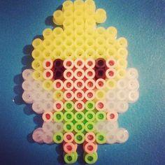 Tinker Bell hama beads by jrdisenos