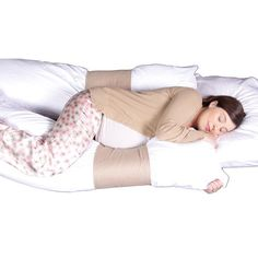 http://snoringsolutionsforever.com/pinnable-post/pillowband-size-1 Use your favorite pillows in any combination. Sleep soundly with back and belly support that stays put all night. You can use 1 regular & 1 body pillow, 2 regular pillows or 2 body pillows. Use firm pillows for maximum support. PILLOWS NOT INCLUDED WITH ORDER.  The pillowband is extremely versatile:  It can help relieve back pain. Gives great support for pregnant women. Helps keep...
