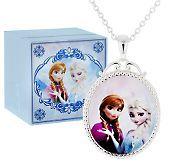 Ships 9/18/14 Disneys Frozen Pendant with Musical Box - J296577