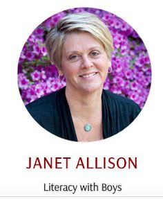 Janet Allison talks