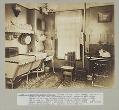Kitchen of two room apartment in model tenement buildings, Avenue A. Estate, 78th and 79th Streets and Avenue A, New York City, c. 1903