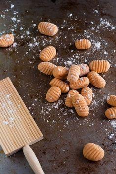 gluten free sweet potato gnocchi 3 small sweet potato 1 egg 1 1/4 – 1 1/2 cup plain gluten free flour