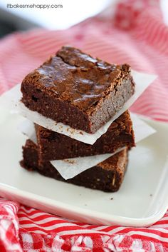 Coconut Oil Fudge Brownies