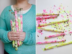 Homemade Confetti Throwers   Image Via: Oh Happy Day