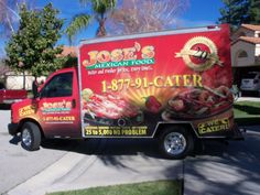 In the mood for Mexican?  Check out Jose's Mexican Food!  They cater!
