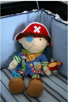 great bedding for the pirate nursery