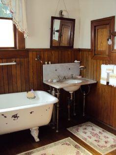"""Pre-Sanitary Era"" bathroom from My 1923 Foursquare: Vanity (Design)"