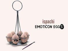 ISPACHI Decor - Emoticon Eggs | Flickr - Photo Sharing!