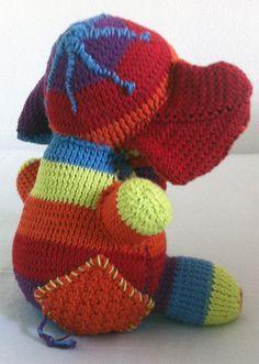 Örgü Oyuncak Fil Modeli « Örgü – Dantel – Hobi