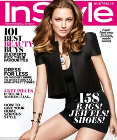 Come a long way: Canadian actress Emily VanCamp covers the April edition of InStyle magazine Australia and divulges one of her mother's unusual parenting methods