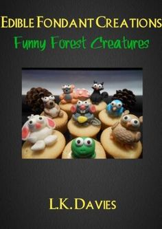 Forest Animal Cake Toppers cake inspir, bake, fondant cake, cake decor, decorating cakes, animal cakes, birthday cake, anim cake, cake toppers