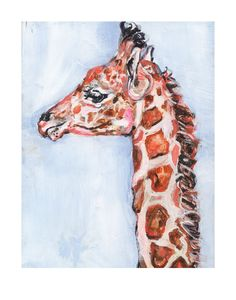 Giraffe Print 11x14 inches available to buy on Fab.com November 19-21st