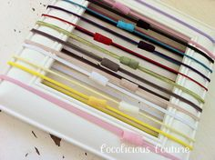 Skinny Interchangeable Elastic Headbands