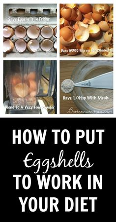 Anti-stress DIY Eggshell Calcium - Butter Nutrition