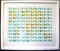 1930s World Map Butterflies - SOLD