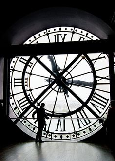 The clock window at