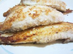 Crispy Coconut Fried Tilapia. Added some lemon at the end this was ...