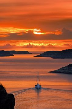 Norwegian Sunset  #Beautiful #Places #Photography