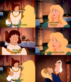The Swan Princess: Is beauty all that matters to you?