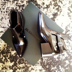 Kicking #2014 off on the right foot with the perfect Jil Sander booties