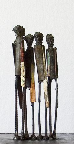 welded figures...... So cool!