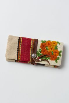 embroid clutch