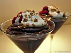 Vitamix Recipes. Vegan Chocolate Chilli Pepper Mousse. This simple little dessert is SCRUMPTIOUS!