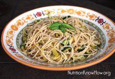 Summer squash pasta salad #recipe