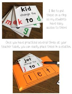 phonemic awareness- deletion and manipulation practice