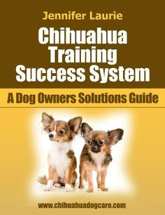 Chihuahua Training Success System (A Dog Owner's Solutions Guide) by Jennifer Laurie. $2.99. 39 pages. Author: Jennifer Laurie. Publisher: South Coast Publishing; 1 edition (August 12, 2012)
