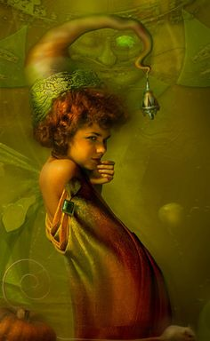 ≍ Nature's Fairy Nymphs ≍ magical elves, sprites, pixies and winged woodland faeries - Vladimir Fedotko