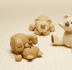How to make these Little Bears in Sugar Paste - Tutorial