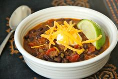 This chili recipe is a hit - try it and you will have the crowd asking for recipe!