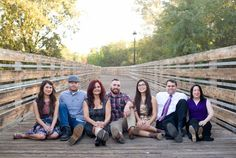 Large Outdoor Family Photo Session | Urke Photography