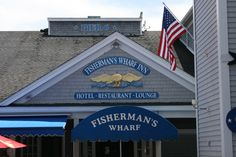 Fisherman's Wharf, Boothbay Harbor, Maine http://www.fishermanswharfinn.com