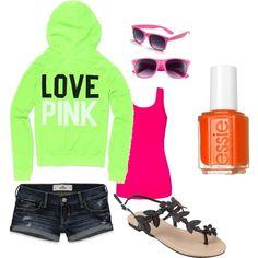 I like the bright colors (: